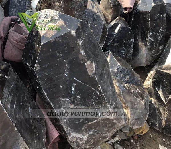 đá thạch anh đen tinh thể